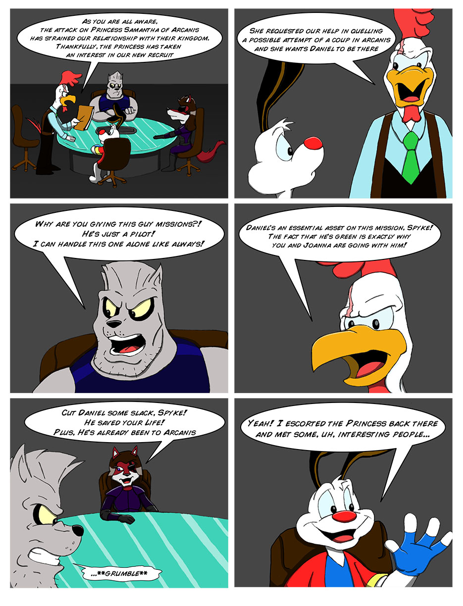 Dogstar: Chapter 3 - Page 6